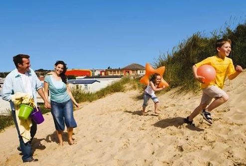 Caister Beach in good beach guide