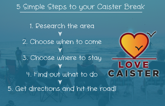 Announcement: How to come on a holiday or short break in Caister