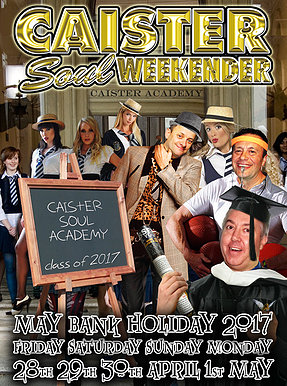 Book Now: Caister Soul Weekender 2017